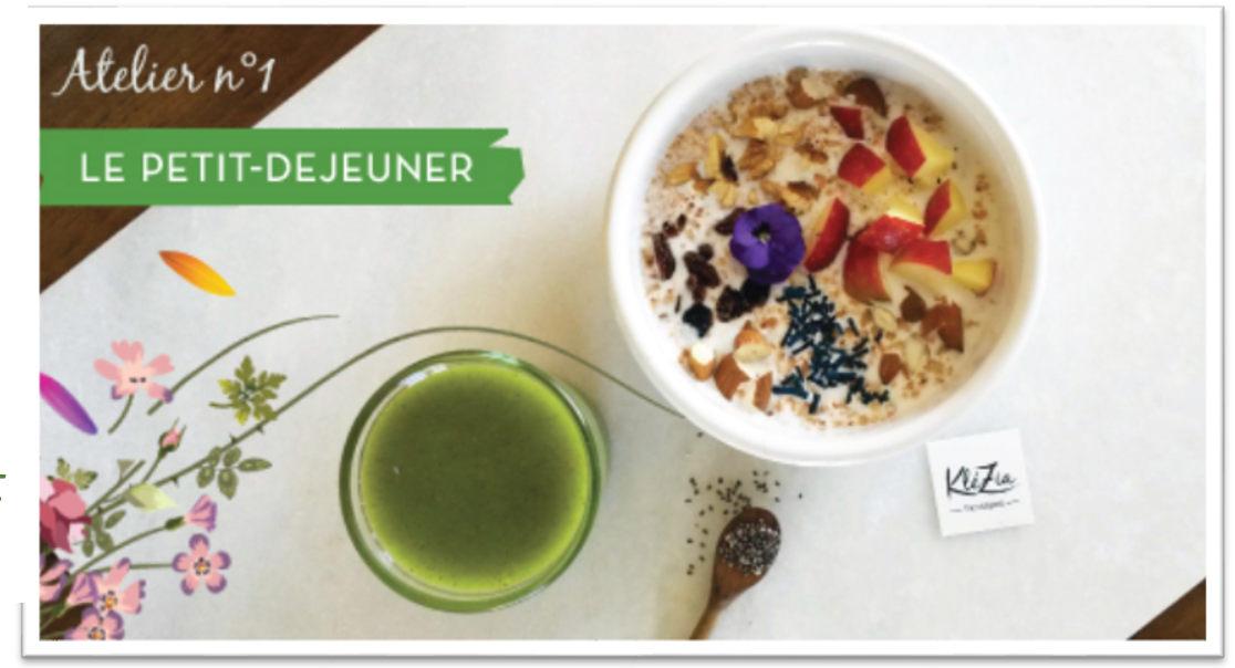 Atelier Petit déjeuner du Samedi 13 Octobre 2018