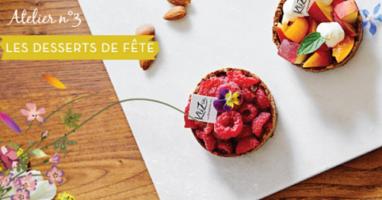 Atelier-Conférence du Samedi 8 Décembre dernier repoussé en Juin 2019 : Atelier desserts de fêtes